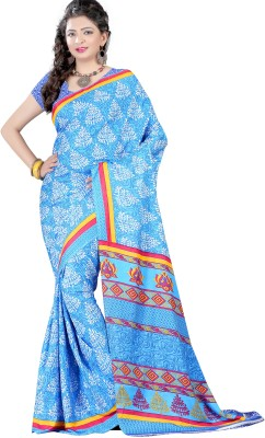 Wind Feb Printed Assam Silk Art Silk Sari