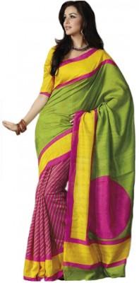 Leranath Enterprise Printed Fashion Georgette Sari