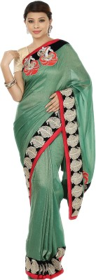 Gopalka Prints Self Design Chanderi Handloom Raw Silk Sari