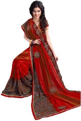 Purnima Printed Fashion Chiffon Sari