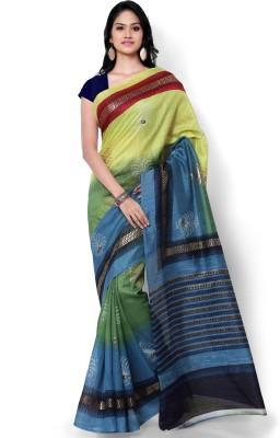 Archishmathi Striped Bollywood Georgette Sari