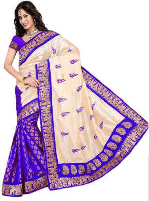 Jhilmil Fashion Self Design Banarasi Silk Sari