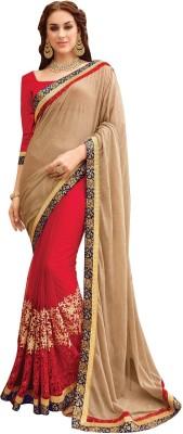 Shop Avenue Embellished Fashion Brasso, Net Sari