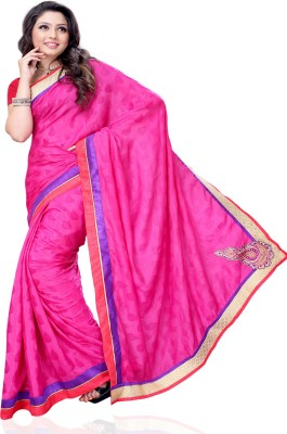 Aalya Self Design Fashion Georgette Sari