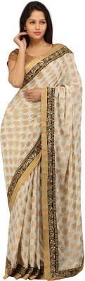 Charming Printed Fashion Georgette Sari