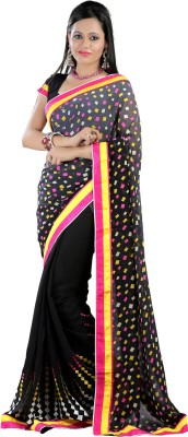 Ruddhi Embriodered Fashion Georgette Sari