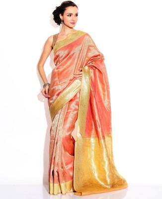 Zain Textiles Woven Banarasi Tissue Sari