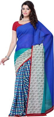 Ruda Printed Fashion Handloom Art Silk Sari