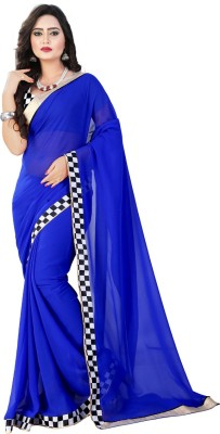 Gopal Retail Checkered Bollywood Georgette Sari