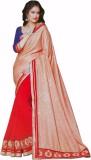 RV Fashions Printed Fashion Georgette Sa...