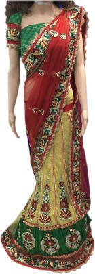Lakmeart Embriodered Fashion Net Sari
