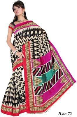 Suman Fab Printed Bhagalpuri Art Silk Sari