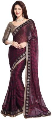 Stella Creation Printed Daily Wear Brasso Sari