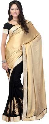 Cutie Fashion Embriodered Fashion Handloom Georgette Sari