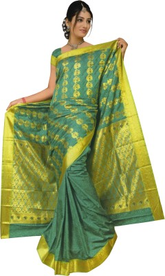 Shakti Enterprises Self Design Fashion Jacquard Sari