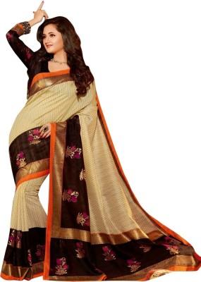 Kanishk Textile Self Design Bhagalpuri Art Silk Sari
