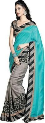 Daksh Enterprise Printed Bhagalpuri Cotton Sari