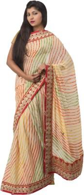 Ghatkopar Cloth Stores (P) Ltd Embriodered Fashion Georgette Sari