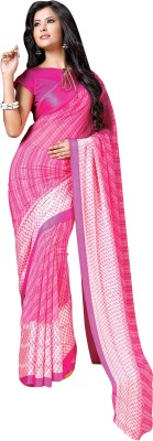 Vachi Graphic Print Fashion Pure Georgette Sari