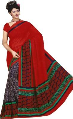Swaman Printed Fashion Chiffon Sari
