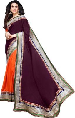 Nanda Silk Mills Self Design Fashion Art Silk Sari