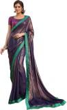Sara By Me Plain Fashion Chiffon Saree (...