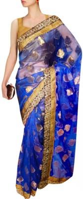 Sthavi Embriodered Fashion Cotton Sari