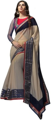 Anwesha Sarees Embriodered Fashion Chiffon Sari