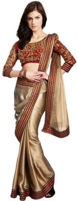 Ustaad Embriodered Fashion Georgette Sari
