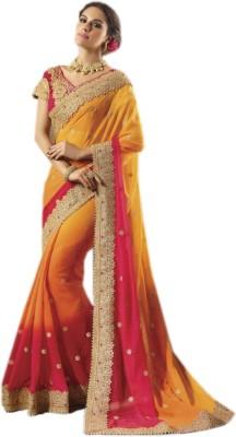 maykadesigner Embriodered Bollywood Georgette Sari