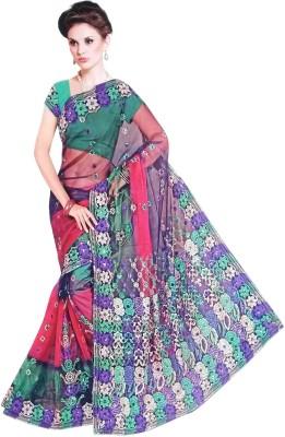 Suvida Embellished Bollywood Net Sari