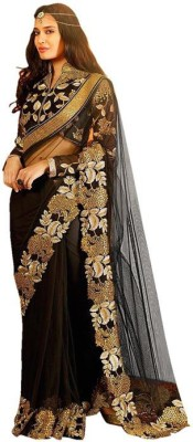 Jija Embriodered Fashion Net Sari