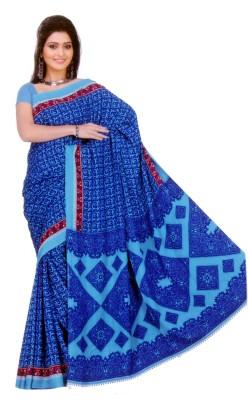 Mihika Printed Daily Wear Crepe Sari