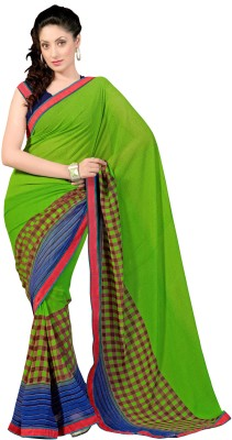 7 Colors Lifestyle Printed Fashion Georgette Sari