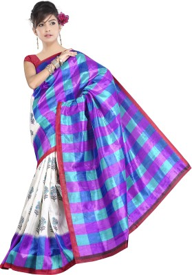 Stalion Creation Printed Bhagalpuri Art Silk Sari