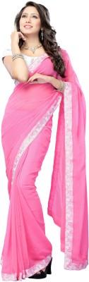 Ragini Saree Self Design Bollywood Georgette Sari