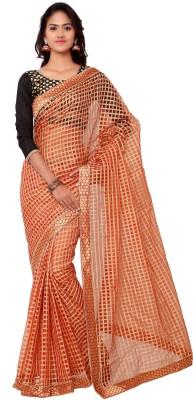 Sarvagny Clothing Solid Bollywood Cotton Sari