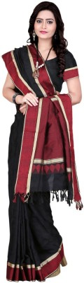 Shobha Sarees Self Design Fashion Poly Silk Sari