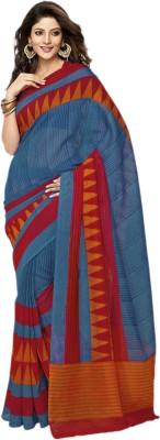 Rangsthali Printed Bhagalpuri Brasso Sari