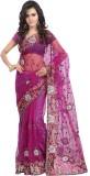 Khazana Embroidered Fashion Net Saree (P...