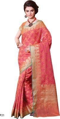 La,ethnic Printed Fashion Handloom Cotton Sari