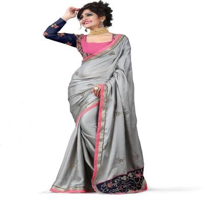 Shopimo Fashion Self Design Fashion Handloom Georgette Sari