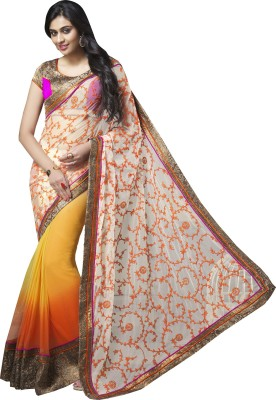 Moh Manthan Self Design Fashion Net Sari