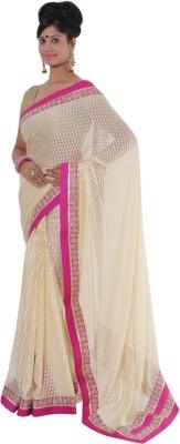 Vikrant Collections Polka Print Bollywood Chanderi Sari