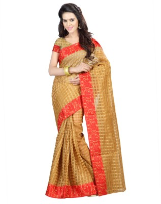 Pichkaree Self Design Fashion Art Silk Sari