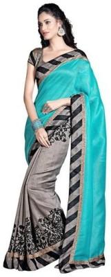 style zone Printed Bhagalpuri Art Silk Sari