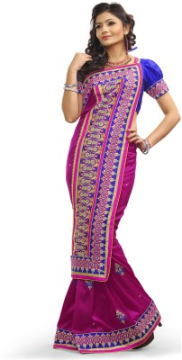 Adde Embellished Fashion Silk Sari