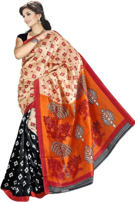 Supriya Fashion Printed Fashion Printed Silk Sari