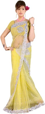 Aarti Saree Embriodered Fashion Net Sari