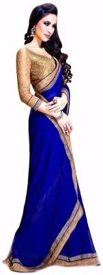 Anerra Self Design Bollywood Handloom Chiffon Sari